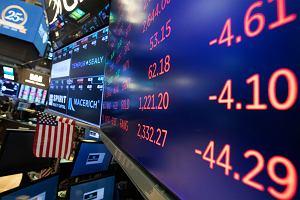 Mocne spadki na Wall Street. Przecena wymiotła wszystkie zyski z tego roku