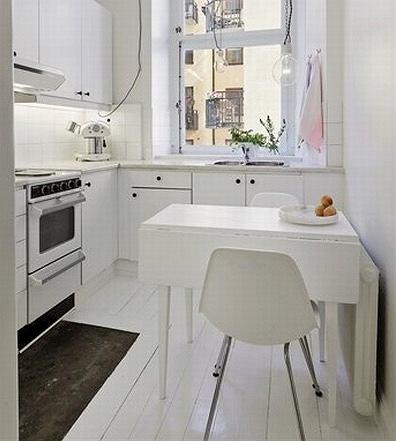 Jak funkcjonalnie urządzić małą kuchnię i powiększyć ją optycznie?