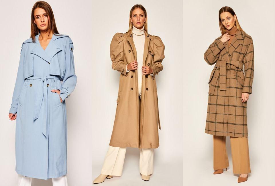 długie płaszcze na jesień modivo