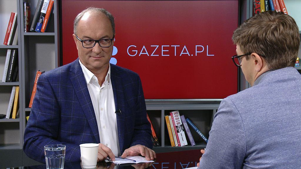 Włodzimierz Czarzasty w Porannej rozmowie Gazeta.pl