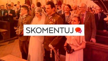 Rekonstrukcja ślubu rotmistrza Pileckiego