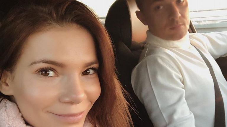 Maja Bohosiewicz z partnerem