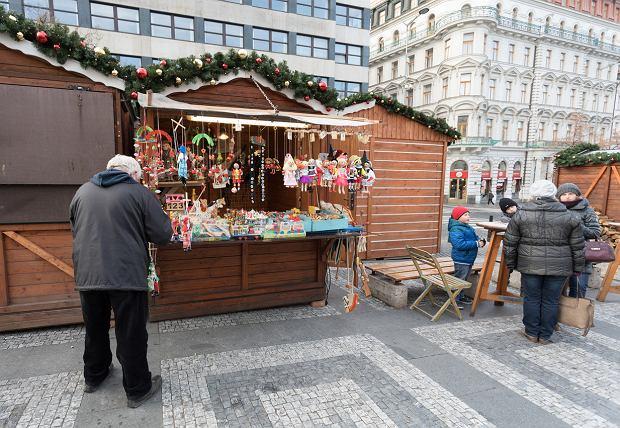 Jarmark bożonarodzeniowy w Pradze w 2017 r.