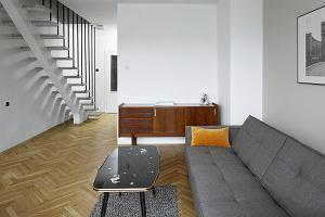 Dwupoziomowe mieszkanie po remoncie
