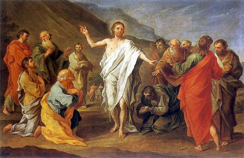 Zmartwychwstanie Jezusa, obraz Szymona Czechowicza
