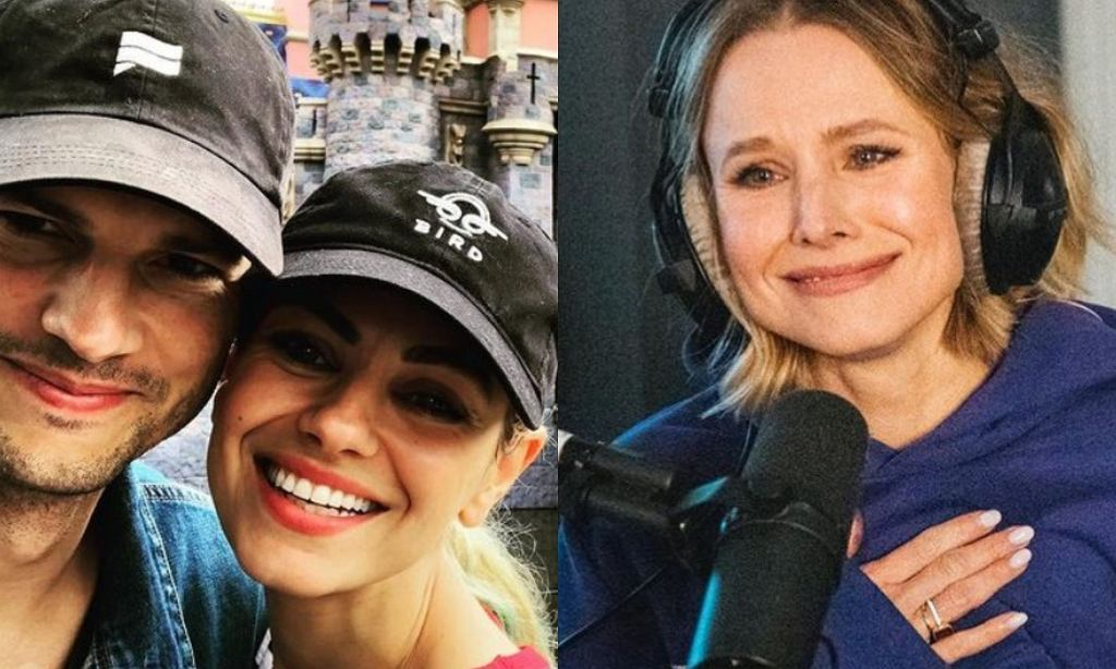 Kristen Bell broni Kutchera i Kunis