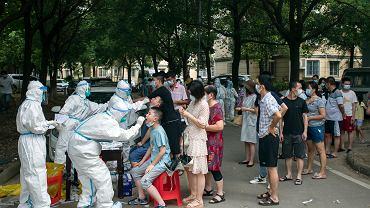 Masowe testy w Wuhan