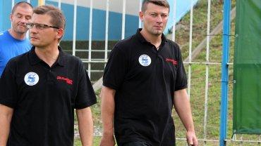 Centralna Liga Juniorów: Stilon Gorzów U-19 - Śląsk Wrocław U-19 1:4 (1:3). Z prawej trener Dariusz Borowy