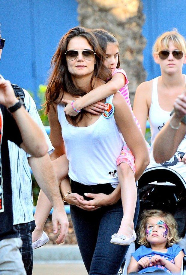 Katie Holmes z córeczką Suri Cruise