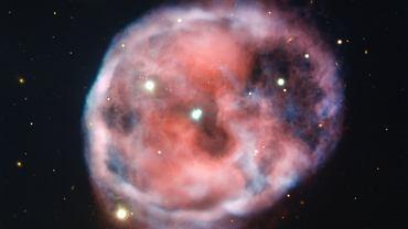 Mgławica Czaszka na nowym zdjęciu ESO (VLT)