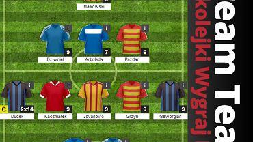 Dream Team 25. kolejki Wygraj Ligę