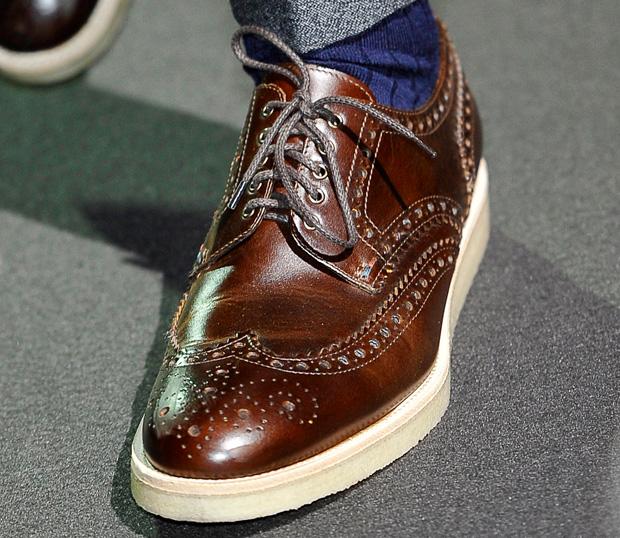 Zamszowe i skórzane buty na jesień, buty, moda męska, Paul Smith