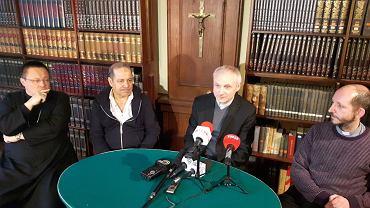 Konferencja prasowa w sprawie 'XIX Dnia Islamu w Kościele Katolickim' w Wyższym Seminarium Duchownym w Łodzi