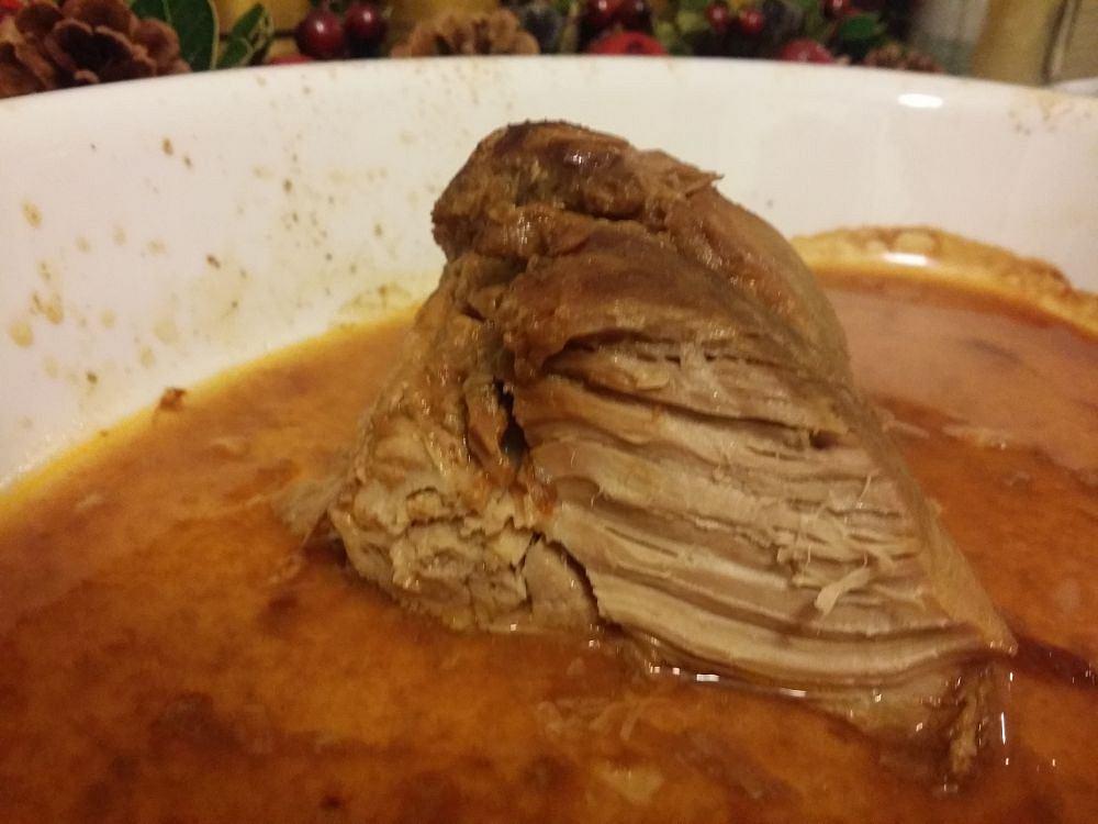 Karkówka wolno gotowana z Biedronki