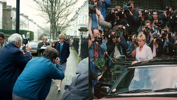 Księżna Diana i paparazzi