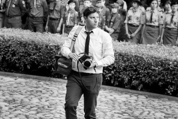 Oczy, które gryzą. Wojciech Grzędziński - osobisty fotograf prezydenta RP