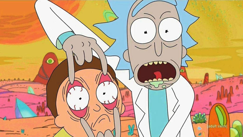 kadr z serialu 'Rick and Morty'