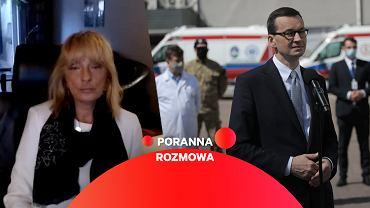 Prof. Maria Gańczak w Porannej Rozmowie Gazeta.pl