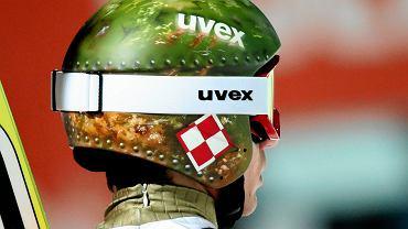 Kamil Stoch wywołał poruszenie wśród fotografów i innych sportowców dzięki oryginalnemu wzorowi na kasku.
