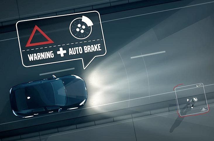 System awaryjnego hamowania Volvo