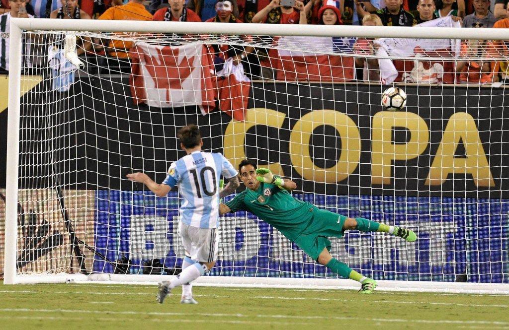 Finał Copa America Argentyna - Chile. Leo Messi