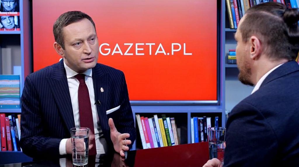 Paweł Rabiej w Porannej rozmowie Gazeta.pl