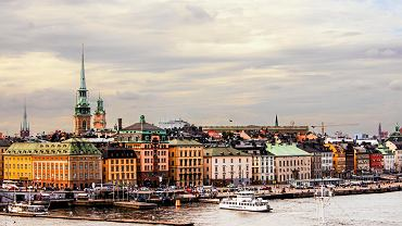 Sztokholm, widok na Gamla Stan