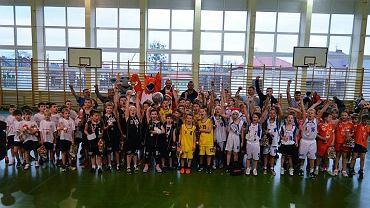 koszykówka, turniej adeptów w Radomiu