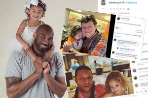Śmierć Kobego Bryanta zapoczątkowała akcję wśród ojców. Udostępniają zdjęcia z córkami
