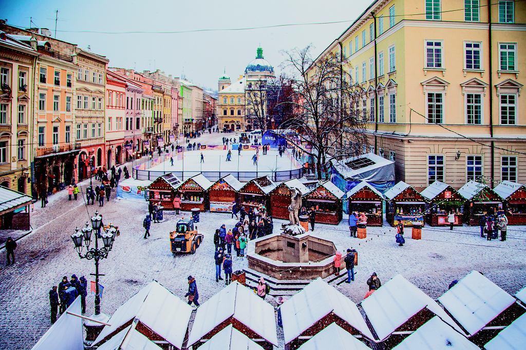 Jarmark bożonarodzeniowy we Lwowie