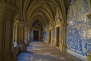 Portugalia Porto. Katedra Sé i mury miejskie