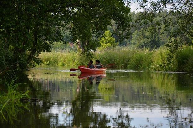 Spływ kajakowy po rzece Supraśl