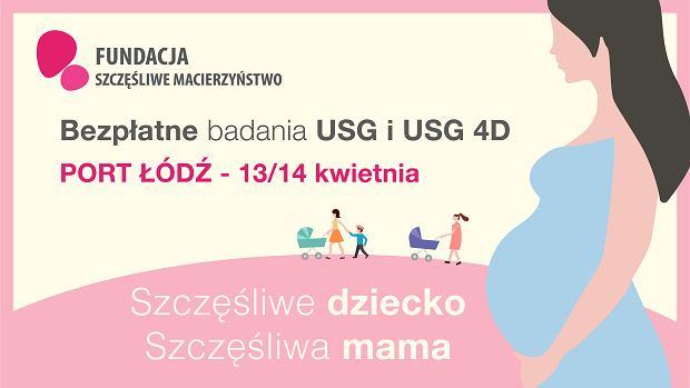 """Bezpłatne badania dla przyszłych mam z Łodzi. To pierwszy przystanek tegorocznej odsłony akcji """"Szczęśliwe dziecko, szczęśliwa mama"""""""