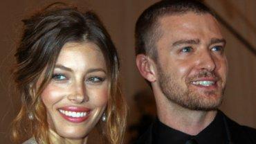 Jessica Biel,. Justin Timberlake