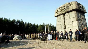 Uroczystości w obozie w Treblince