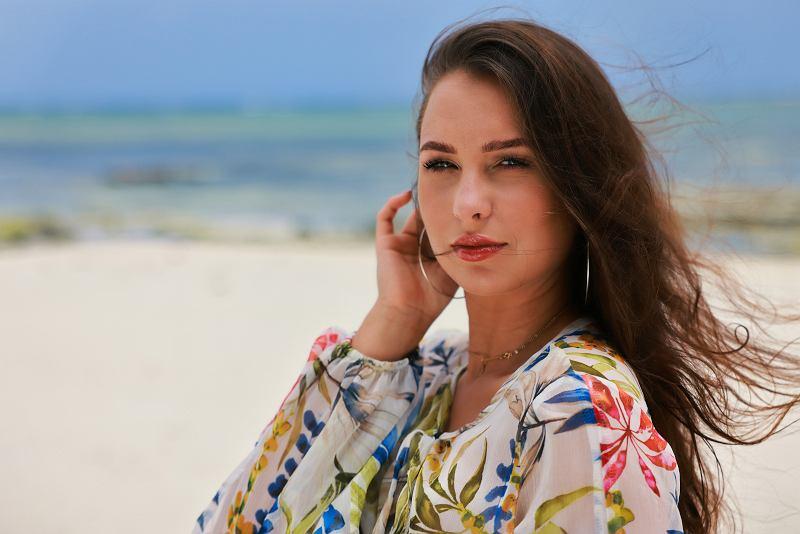 Bogusia Brzezińska, uczestniczka programu 'Hotel Paradise'