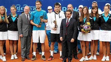 Luigi Lovaglio (na pierwszym planie) podczas zakończenia 21. edycji turnieju