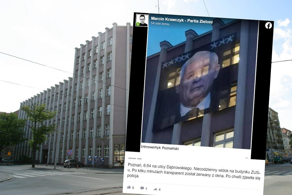 https://bi.im-g.pl/im/f4/89/19/z26779380IH,Baner-z-Jaroslawem-Kaczynskim-na-budynku-ZUS-w-Poz.jpg