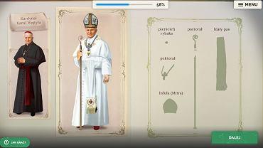 Moduł gry poświęcony Janowi Pawłowi II składa się z 18 misji.