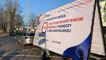 Konwój unijny wyruszył do wielkopolskich miast