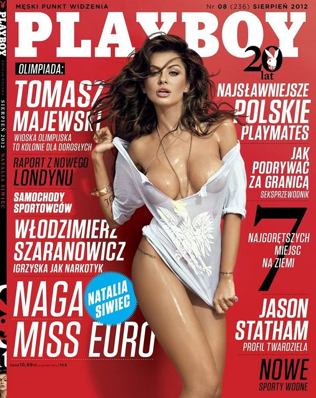 Natalia Siwiec w Playboyu
