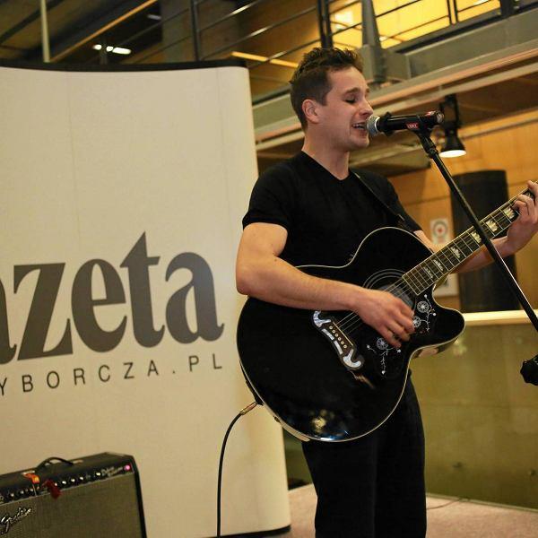 Koncert Krzysztofa Zalewskiego podczas uroczystości wręczenia nagród