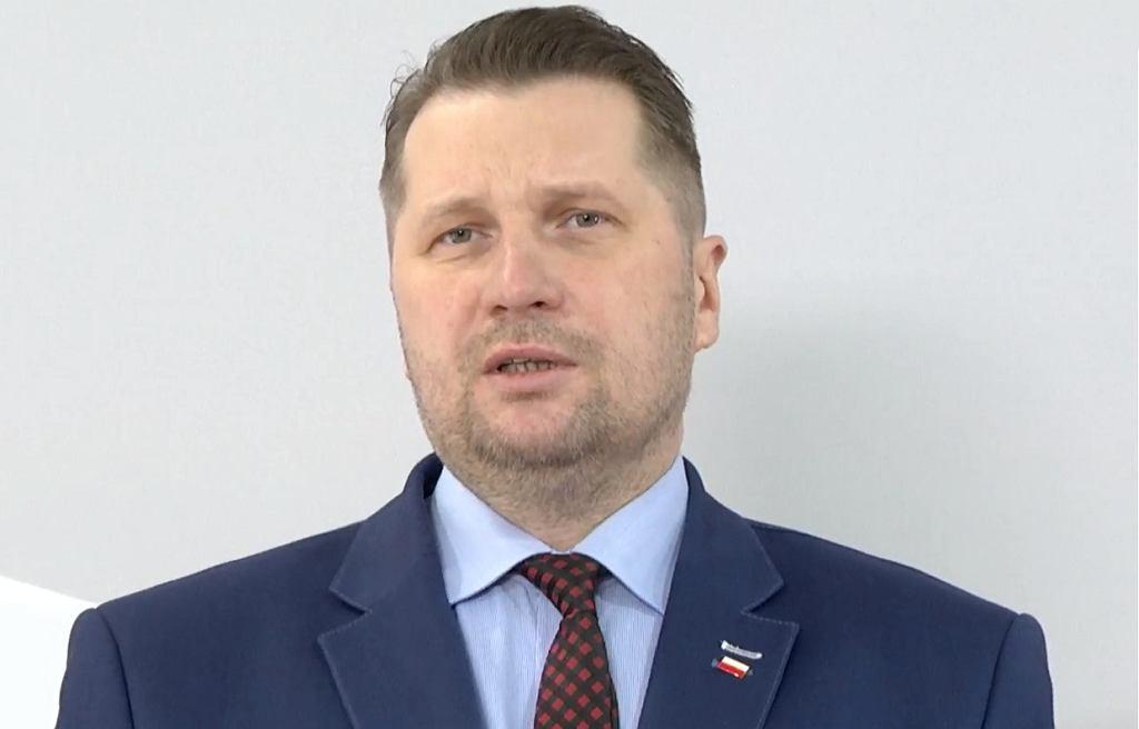 Minister Czarnek o maturach