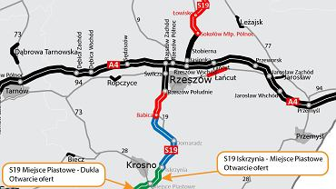 Trasa S19, Via Carpatia, Iskrzynia - Dukla