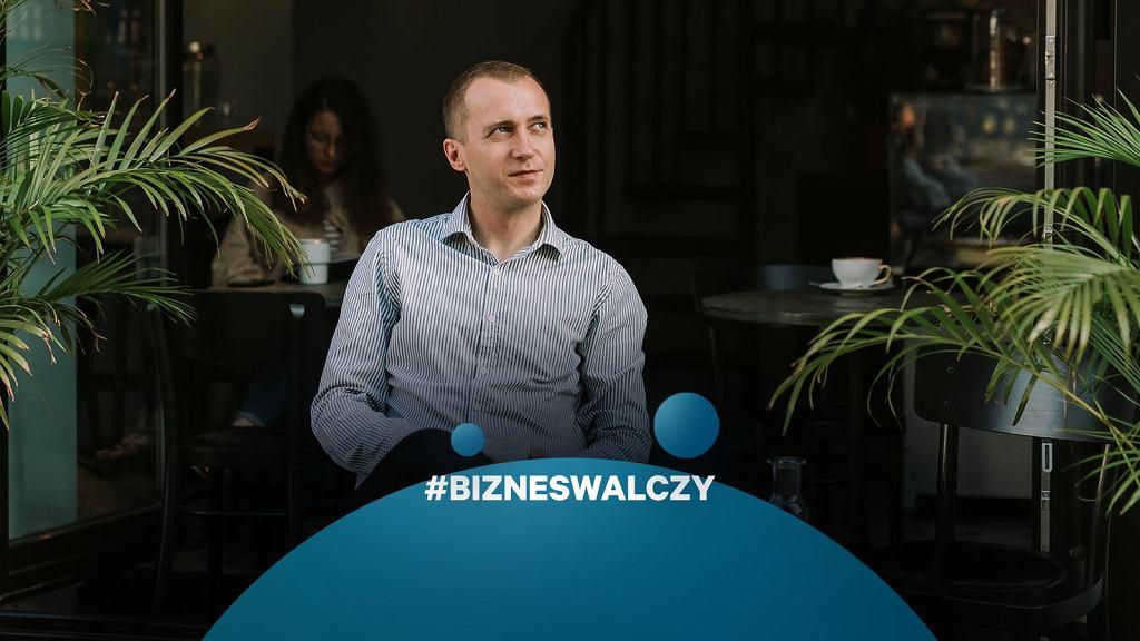 Krzysztof Rzyman, właściciel kawiarni STOR w Warszawie