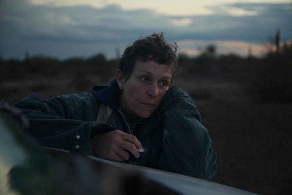 Kadr z filmu 'Nomadland'