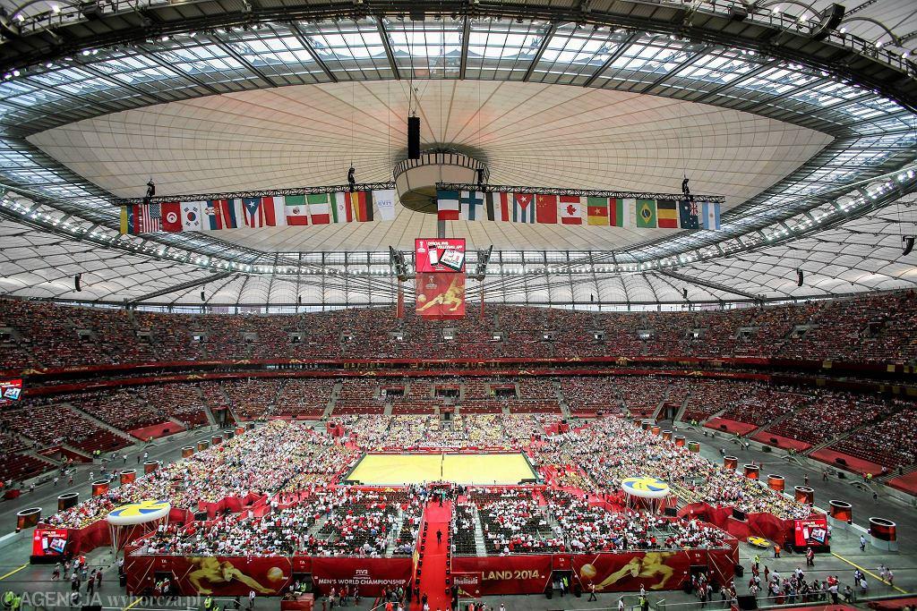 Stadion Narodowy. Mistrzostwa świata w siatkówce mężczyzn. Ceremonia otwarcia.
