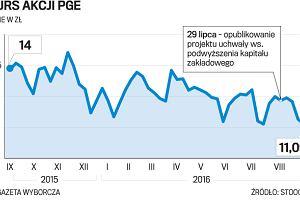 Gotówka z kapitału PGE zasili budżet państwa