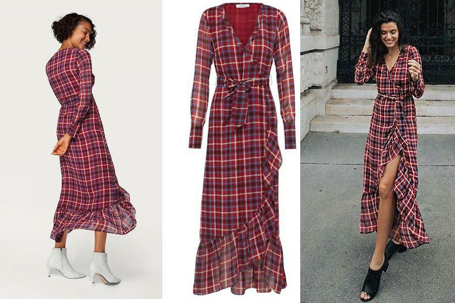 Sukienka w kratkę będzie hitem jesieni
