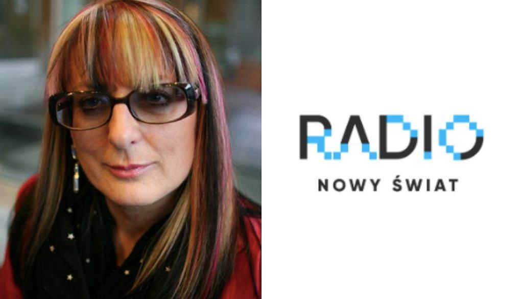 Magda Jethon/logo radia Nowy Świat